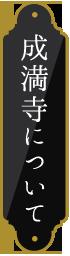 成満寺について